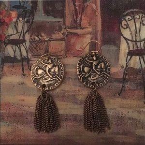 Silpada Coin Earrings